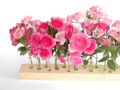 Blumenvase aus Ahorn 13