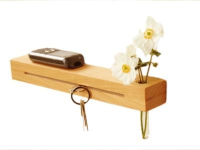 2 Schlüsselleiste in Kirsche 33cm