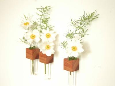 8 Kühlschrankmagnet - Pflaumenholz
