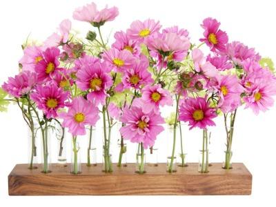 Vase aus Nussbaum 15