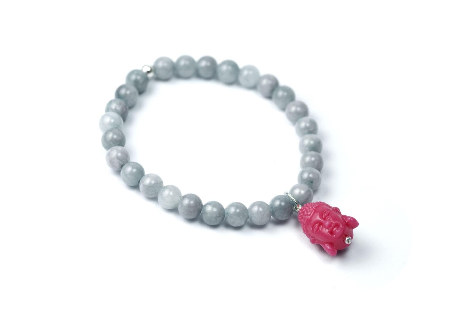 Gemstone Armband BUDDHA-Bead