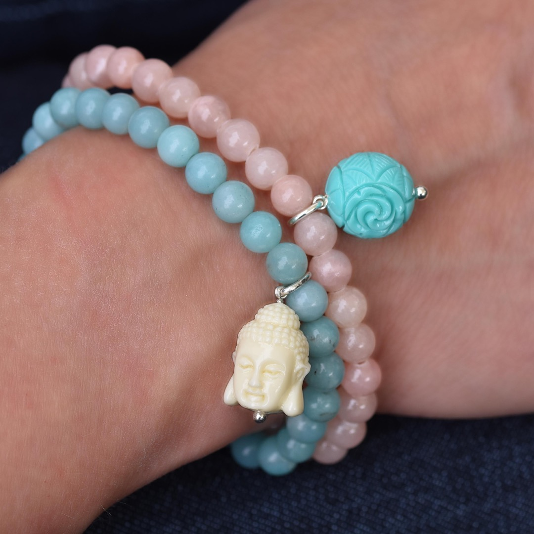 Gemstone Armband FLORAL-Bead