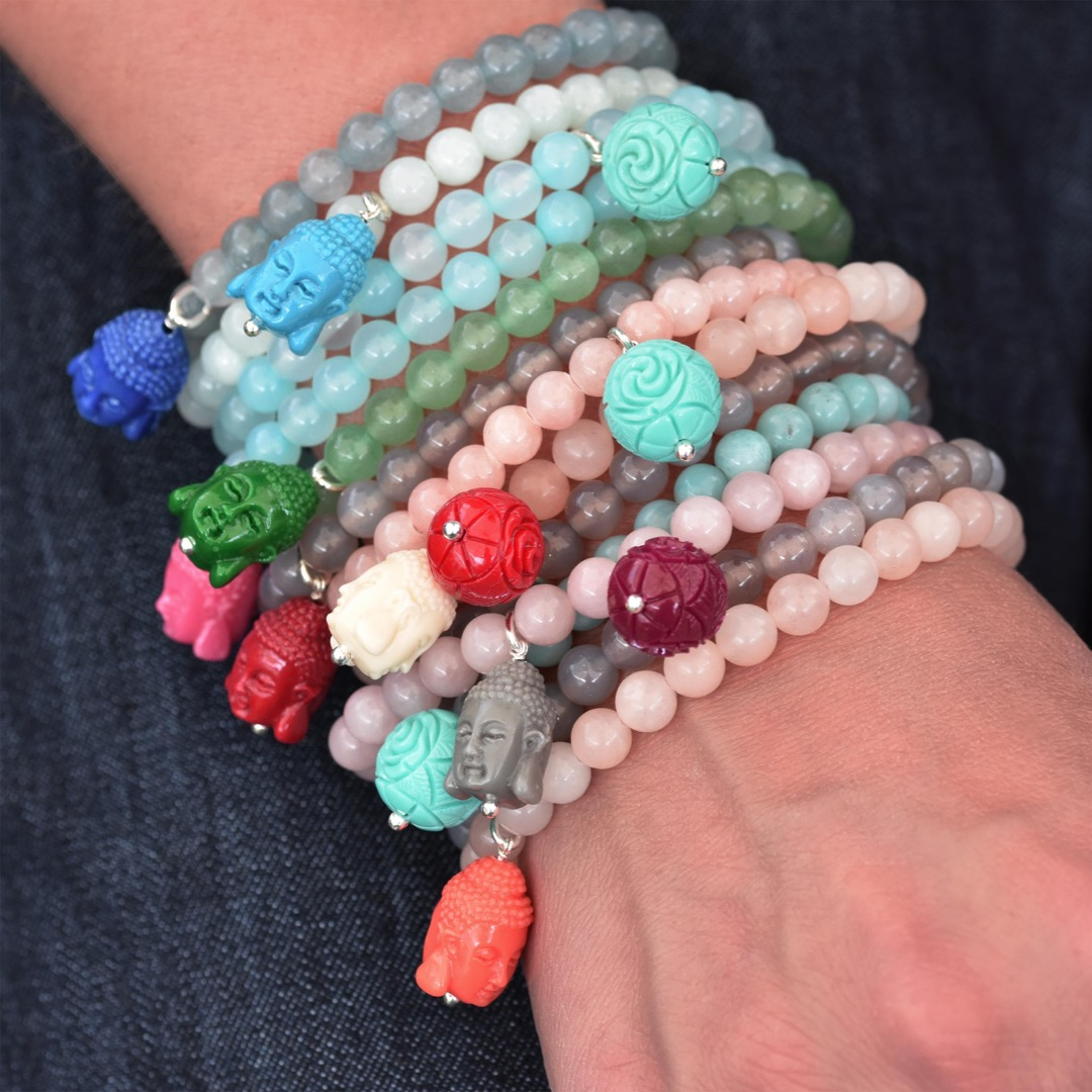 Gemstone Armband FLORAL-Bead 2