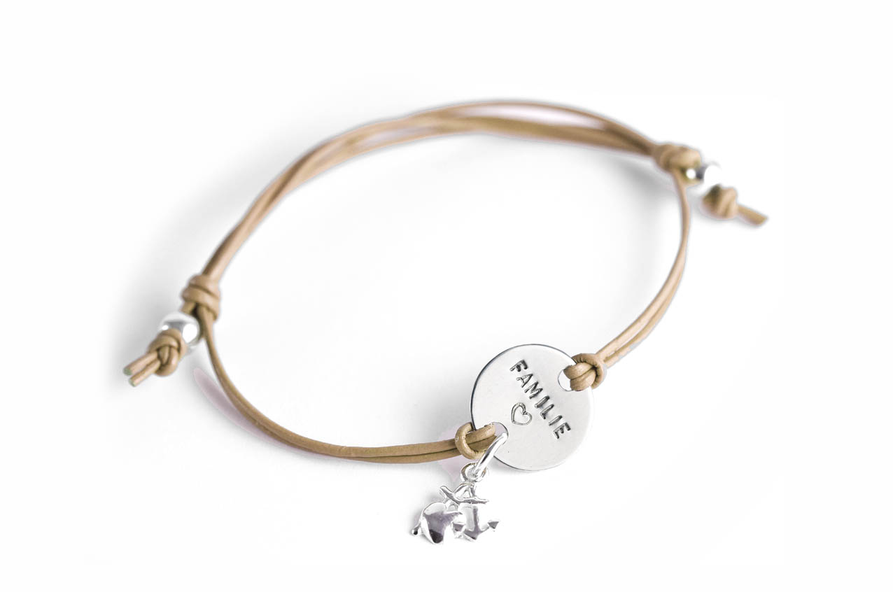 Family Charm Deluxe Namens- Geburts- Spruchband
