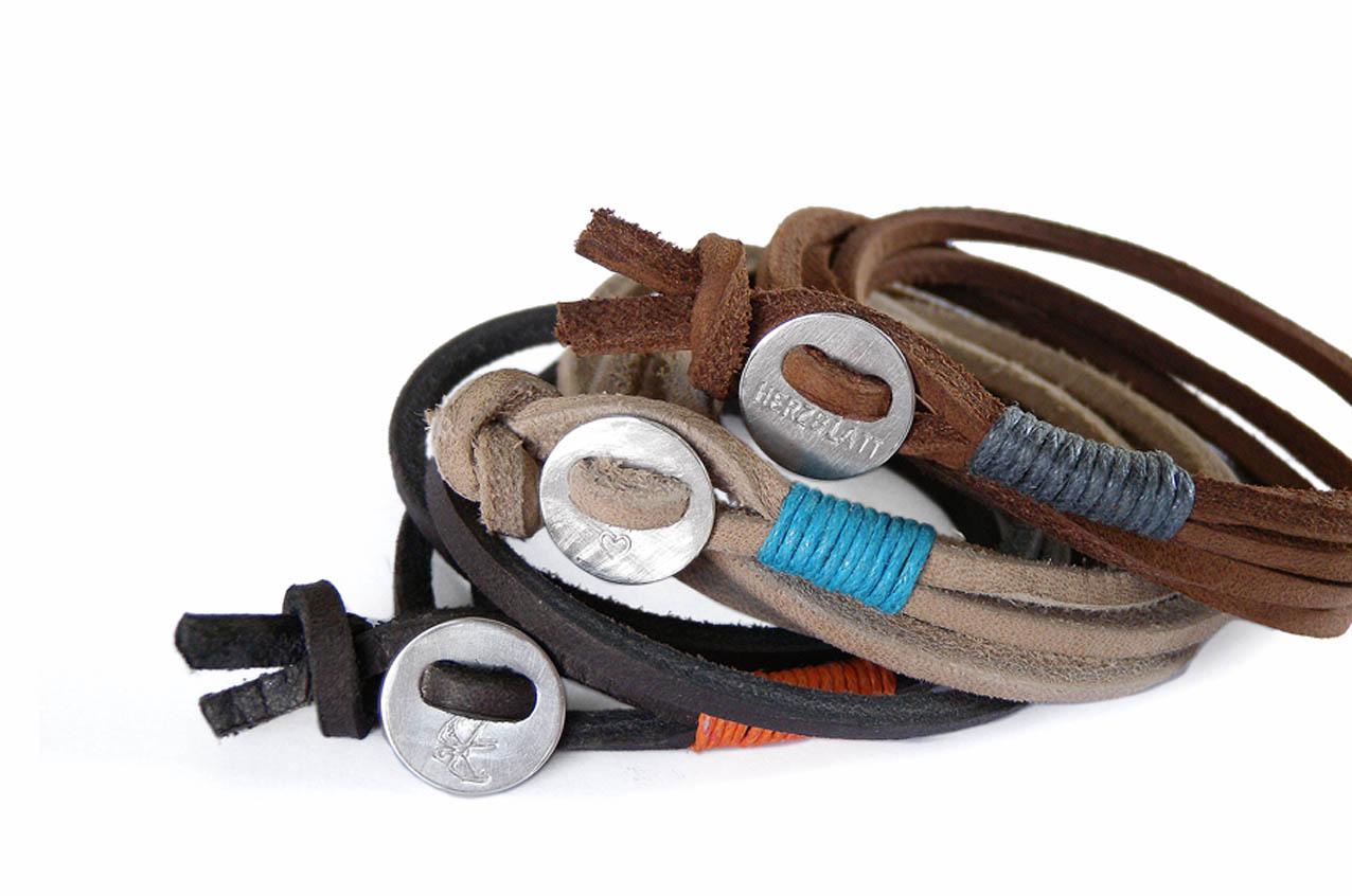 Wickelarmband Button CLASSIC