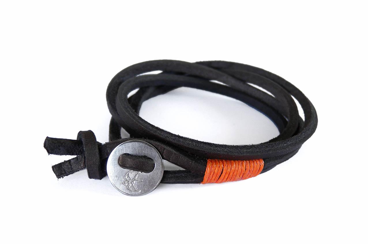 Wickelarmband Button CLASSIC 2