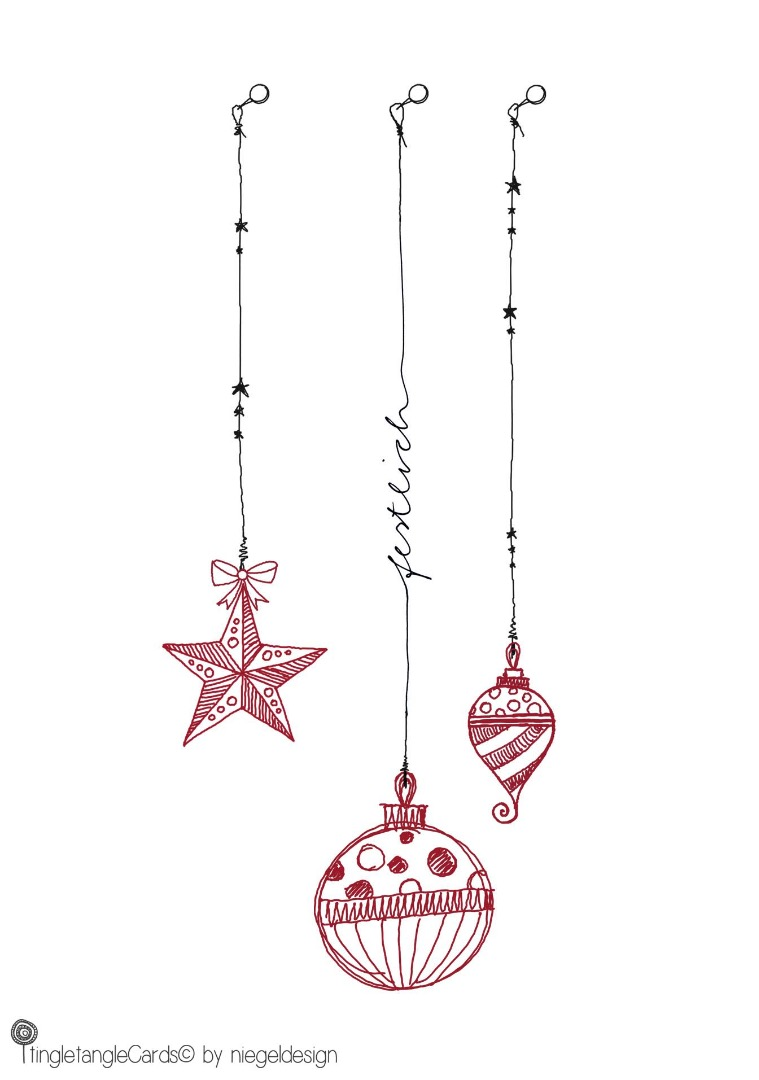 festlich - Christmas Card