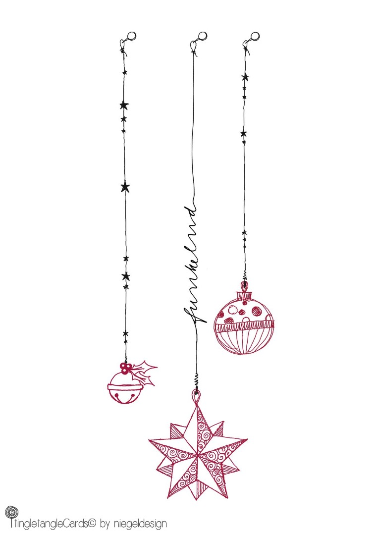 funkelnd - Christmas Card