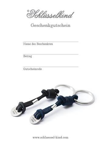 Schlüsselkind -Geschenkgutschein