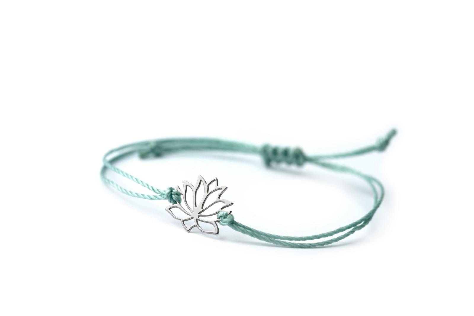 LOTUS Bracelet - 925er Silver