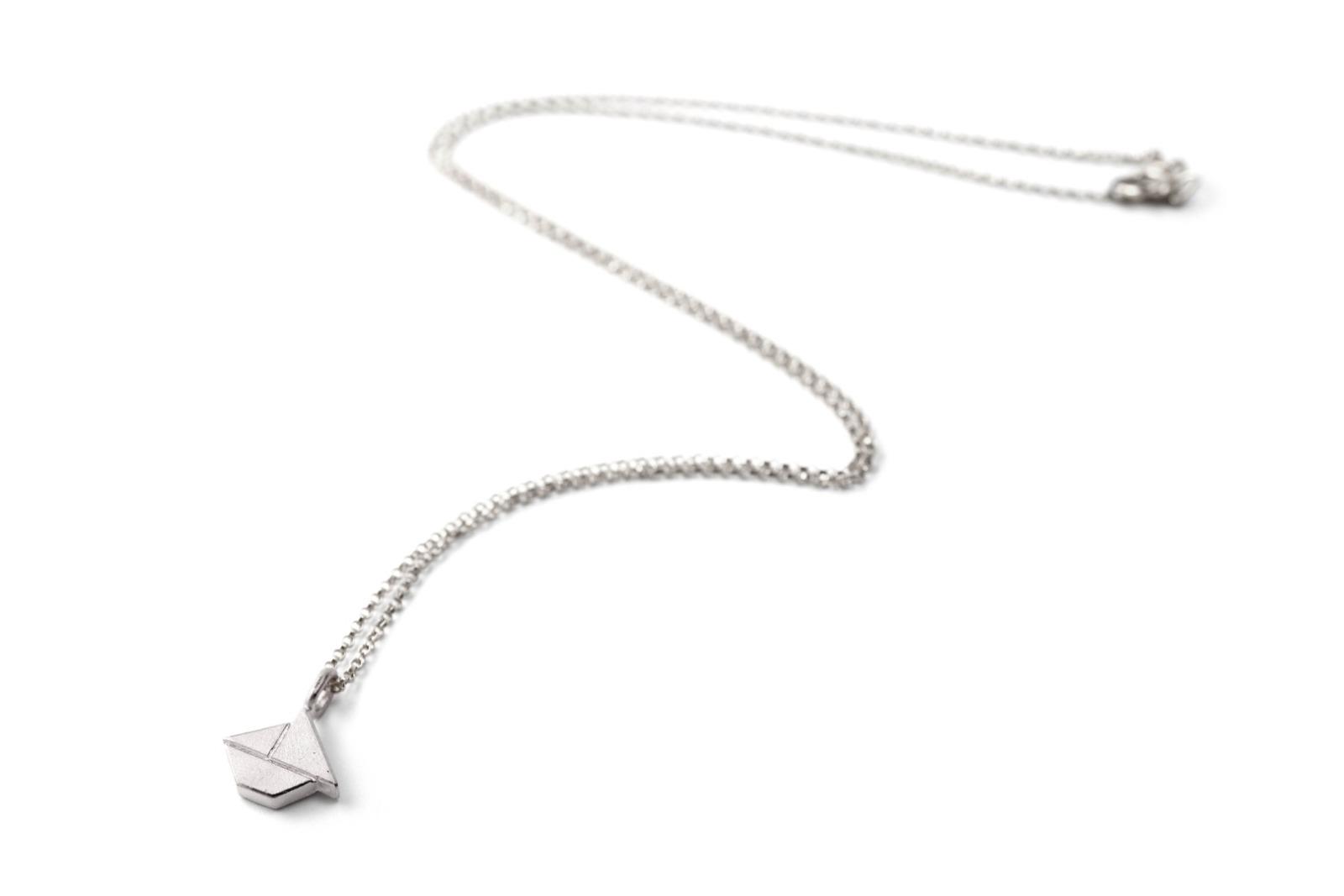 Tangram-Kette SCHIFFCHEN 925 Silber