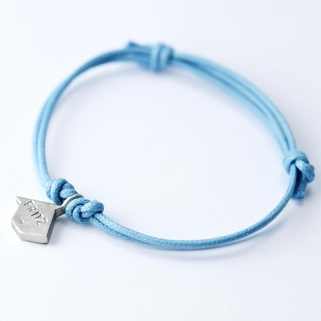 SCHIFFCHEN - Tangram Kette oder Armband, 935 Silber, auf Wunsch vergoldet - 6