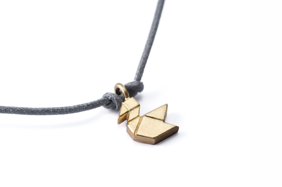 VÖGELCHEN Tangram Kette oder Armband Silber
