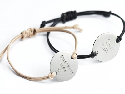MOTTO BRACELET MAXI Indivdualisierbares Armband 925er