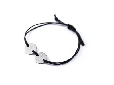 MOTTO BRACELET DELUXE Indivdualisierbares Armband 925er