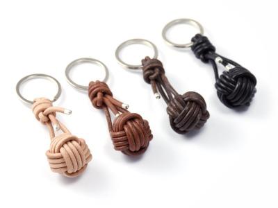 Schlüsselanhänger FIETE Individualisierterer zur Monkeyfist handgeknoteter