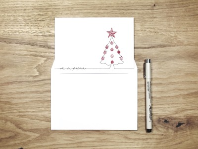 oh du froehliche - Christmas Card