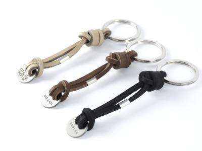Schlüsselanhänger KONRAD, 925er Silber - Individualisierbarer hochwertiger Schlüsselanhänger