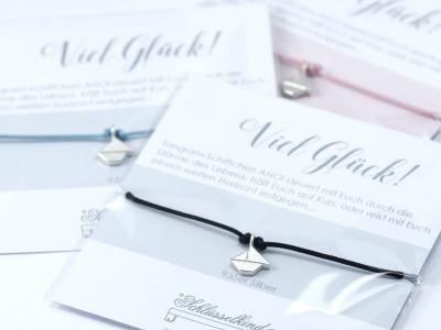 SCHIFFCHEN - Tangram Kette oder Armband 935 Silber auf Wunsch vergoldet - ...steuert mit Euch durch die Stuerme des Lebens haelt Euch auf Kurs oder reist mit Euch einem weiten Horizont entgegen...