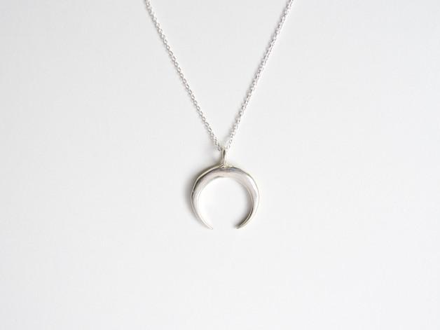 Crescent Moon Coole Kette Halbmond