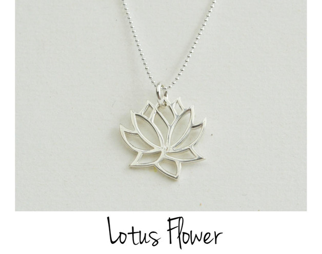 It-Piece Kette Lotus Flower
