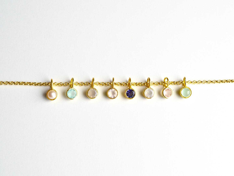 Your Choice Armband Tiny Gems vergoldet