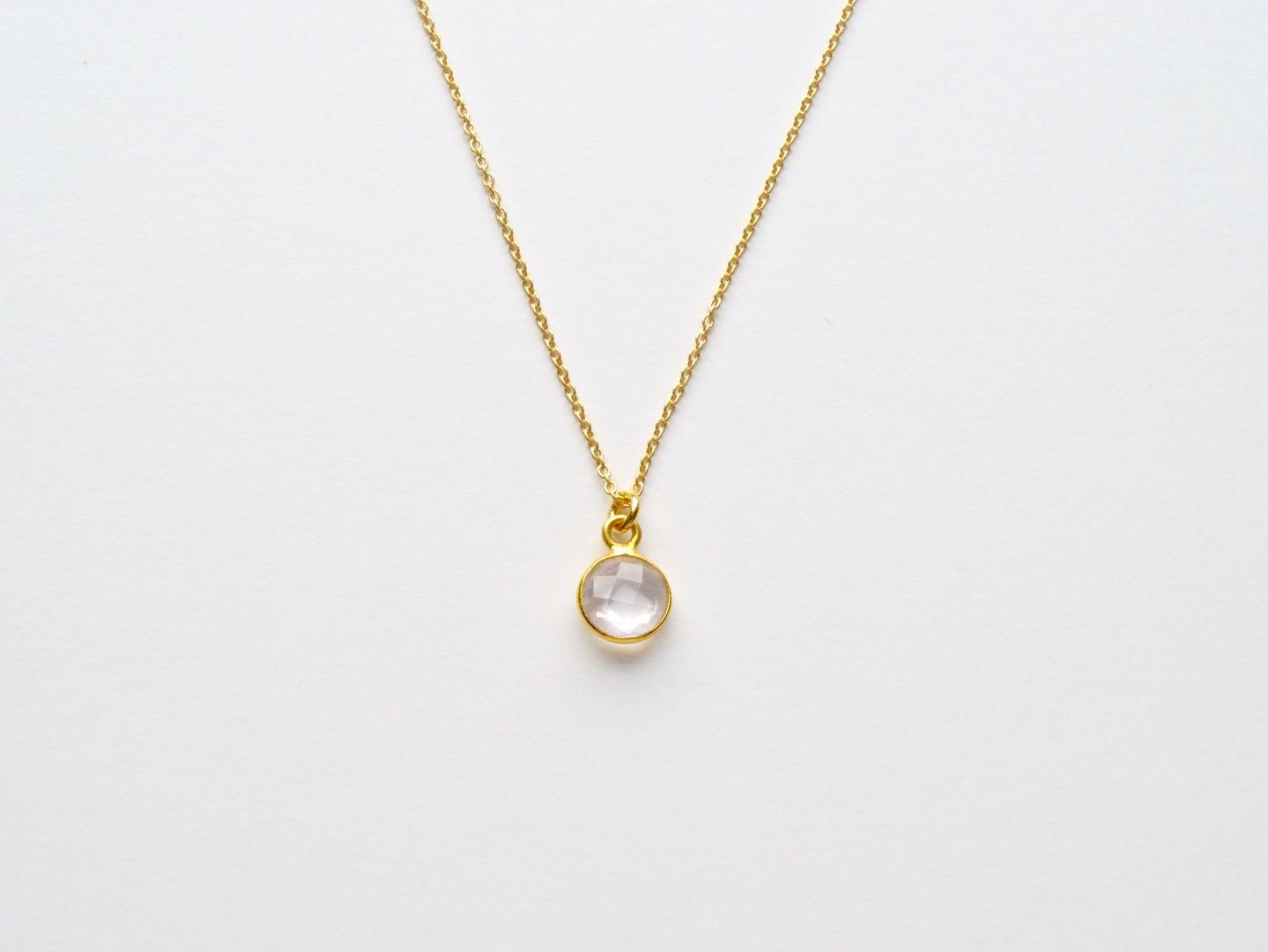 Your Choice Tiny Gems Kette vergoldet