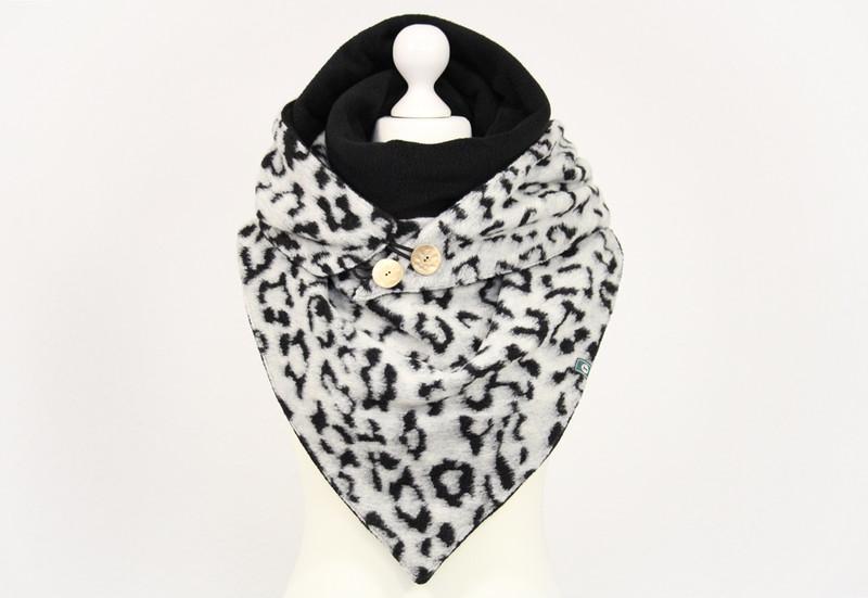 XL Dreieckstuch SnowLeopard 2