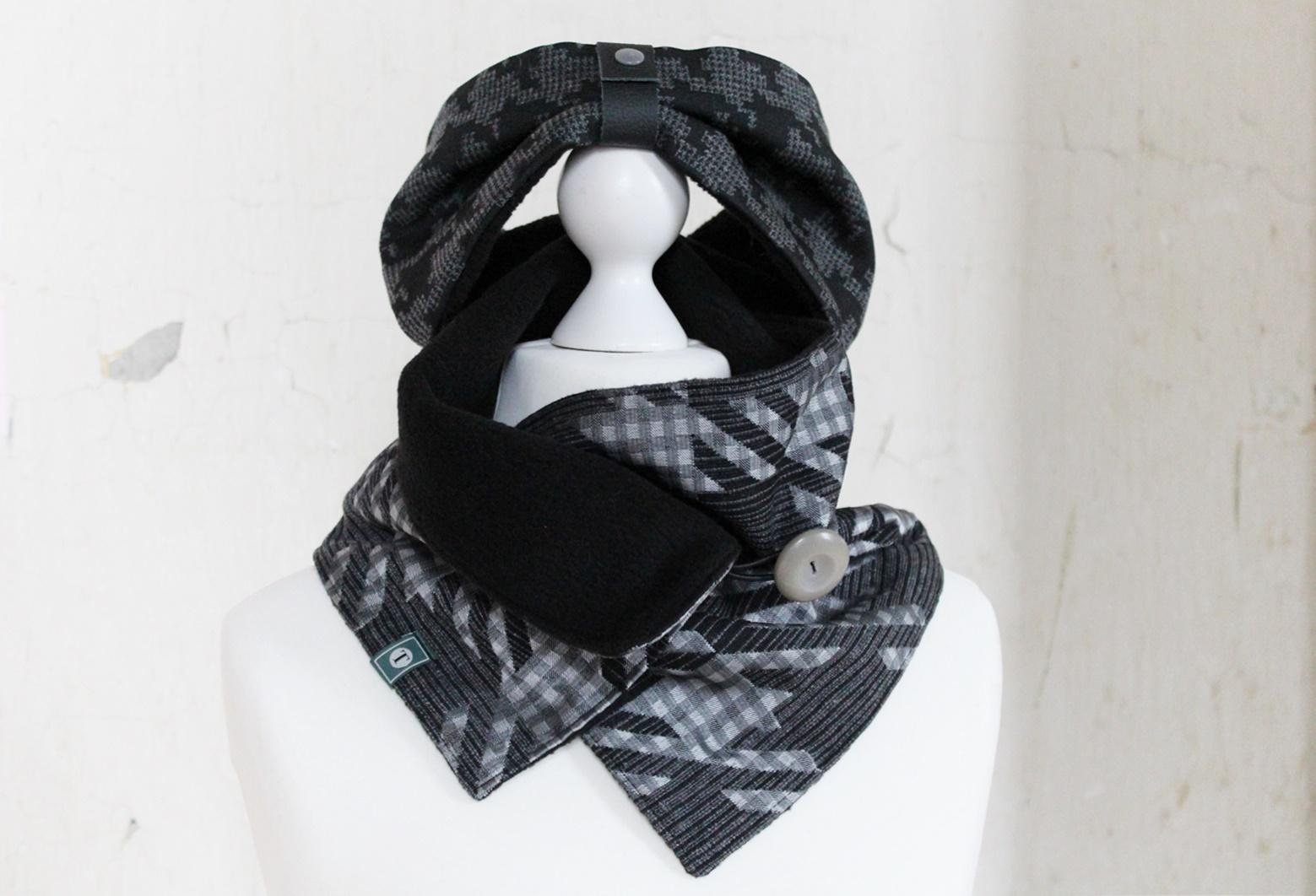 Set Schal Stirnband Wintersturm