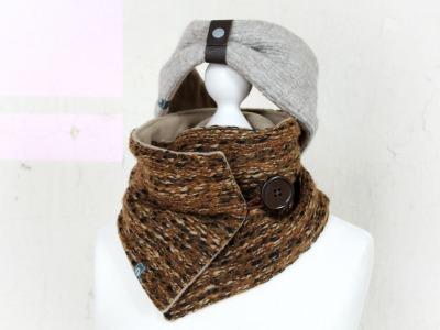 Set Schal Stirnband Winterzauber