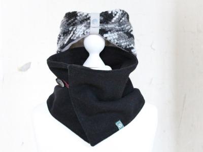 Set Schal Stirnband Wintersturm2