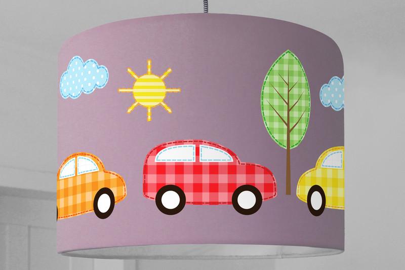Lampenschirm Autos Fahrzeuge Babylampe   Ninitak