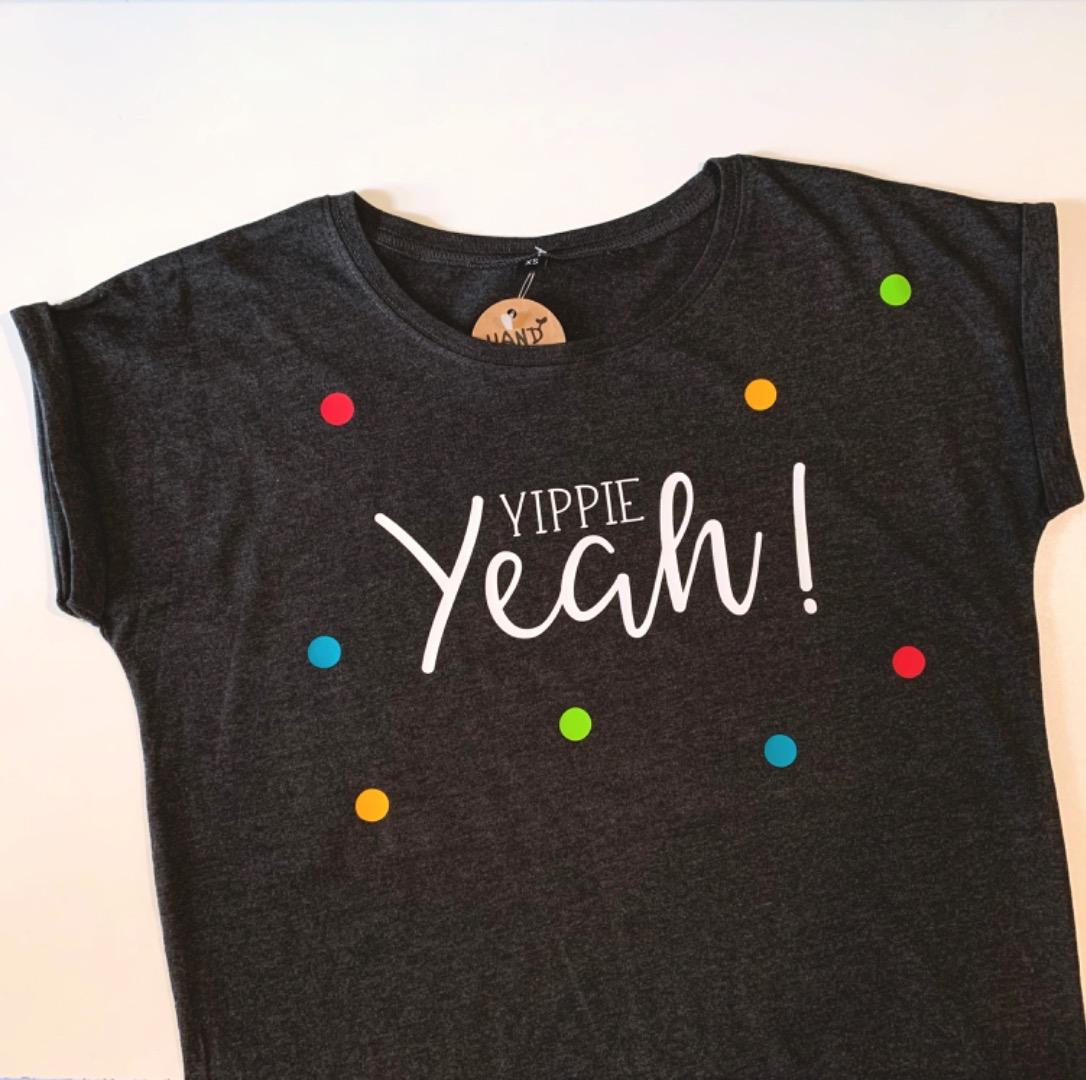 T-Shirt Yippie Yeah