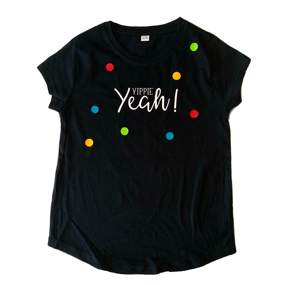 KIDS T-Shirt Yippie Yeah