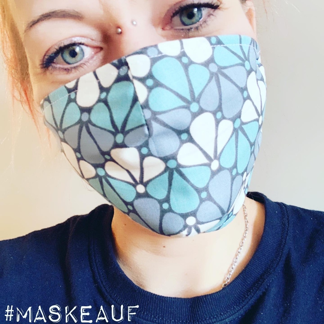 5x Mund-& Nasenbedeckung