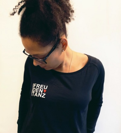 Longsleeve Freudentanz - Langarmshirt schwarz Freudentanz