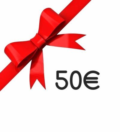 Geschenkgutschein 50