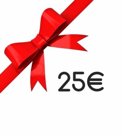 Geschenkgutschein 25