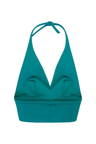 Recycling Bikinitop Fjordella smaragd 2