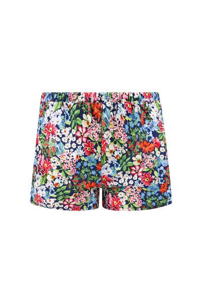 Bio Shorts Smilla allover Blumen 2