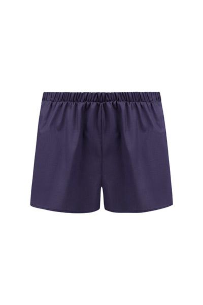 Bio Shorts Smilla blau 2