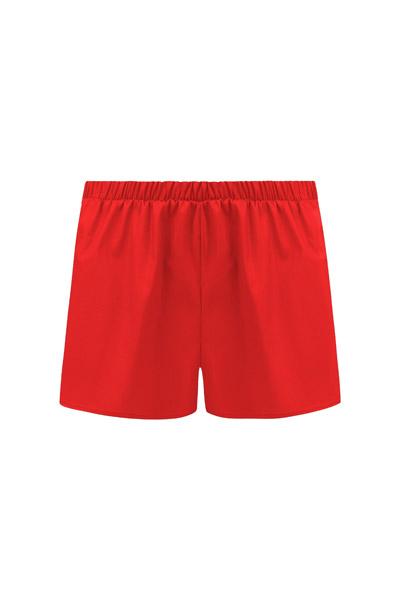 Bio Shorts Smilla rot 2