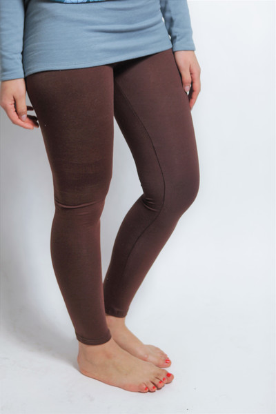 Bio Leggings braun - 1