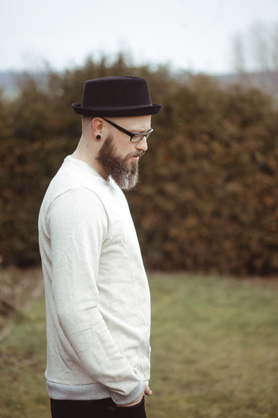 Bio Sweater Heada creme meliert Bündchen - 2