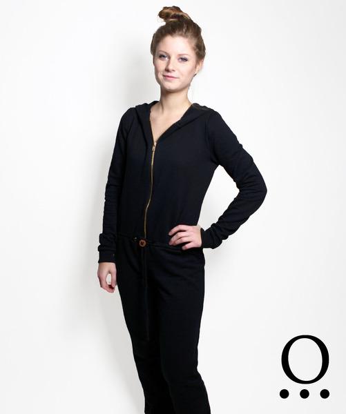 Bio Jumpsuit schwarz - 1