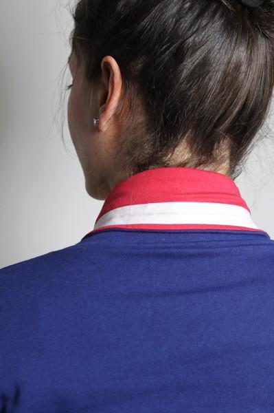 Bio Sweater Kraja blau rot weiß - 2