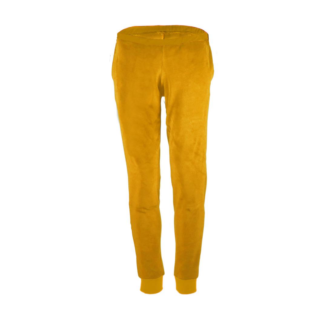 Bio Nickihose Hygge senf / gelb