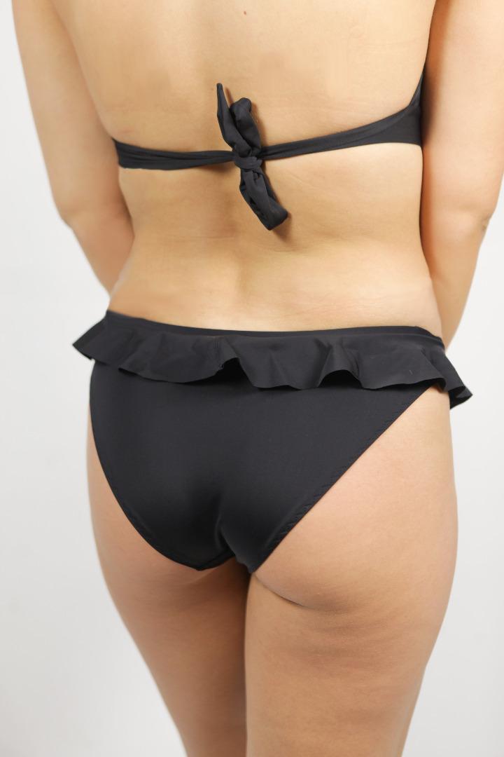 Bikinihose Volanti schwarz 2