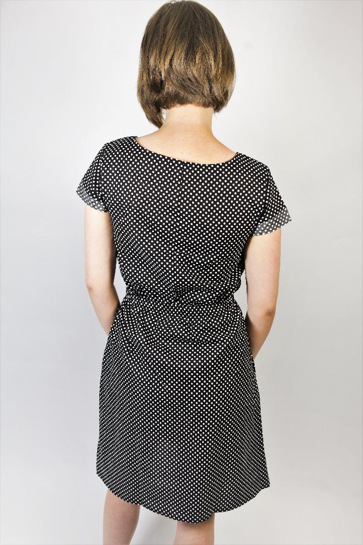 Bio Kleid Somrig schwarze Punkte 3