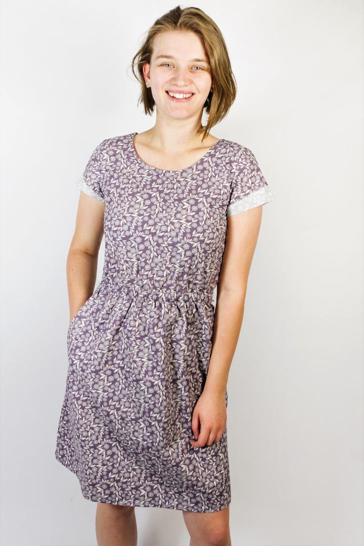 Bio Kleid Somrig Feldblumen braun - 1